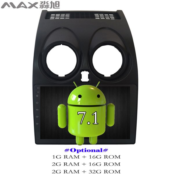 Android 7.1 Car DVD Player for Nissan Qashqai 2007 2008 2009 2010 2011 2012 2013 Car Radio WIFI SWC GPS Free Map