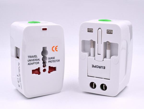 Alles in Einem 1 USB Port World Travel Netzteil Ladegerät Adapter mit AU US UK EU Konverter Stecker