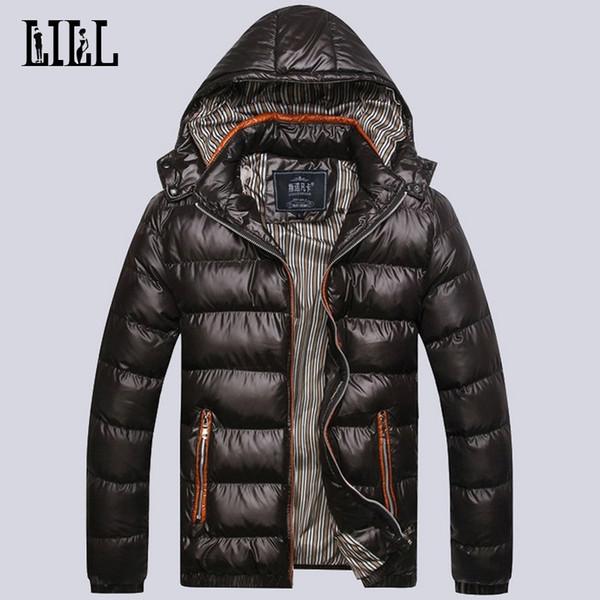 Großhandel Warme Jacken Down Dicke Cotton Beiläufige Mäntel JackeUma302 Mit Parka Light Feder Padded Männliche Herren Kapuze Winter 2016 Mens Männer UMGzqSVp