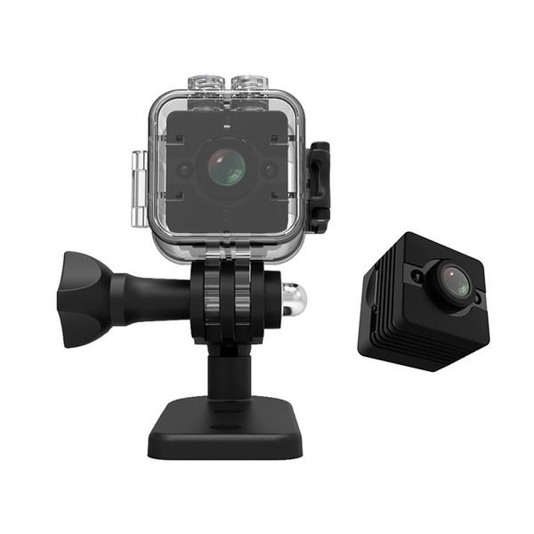 SQ12 Waterproof Mini Camera degree wide-angle lens HD 720P Video Voice Recorder DVR Recording Digital Pen Camera pk SQ11 SQ8 Q7