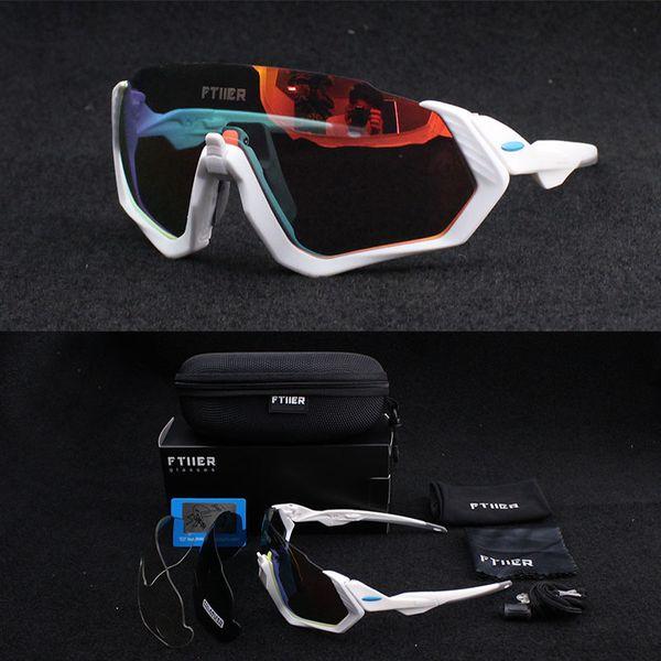 3 Lente UV400 Mens Polarizada Ciclismo Óculos de Sol TR90 Esportes Bicicleta Óculos 2017 MTB Mountain Bike Óculos De Sol Ciclismo Eyewear