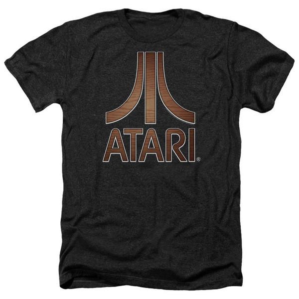 Atari Heather T-Shirt Support Dropship Tee Tees Shirt Men Screen Printing Short Sleeve Crewneck Cotton XXXL Group Tee Shirts