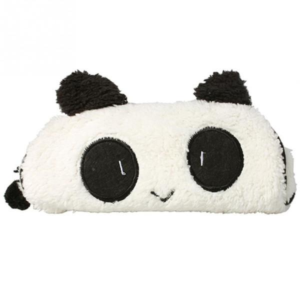 Cute Soft Panda Pencil Pen Case Storage Bag Cosmetic Makeup Bag Pouch Wallet