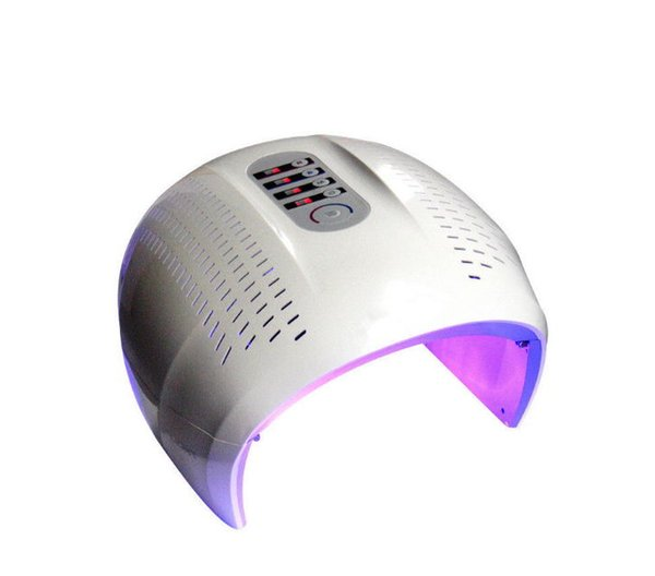 En kaliteli PDT makinesi PHOTON FACIAL Cilt Gençleştirme Kırmızı + Mavi + Sarı + Yeşil LED ışık tedavisi ekipmanları