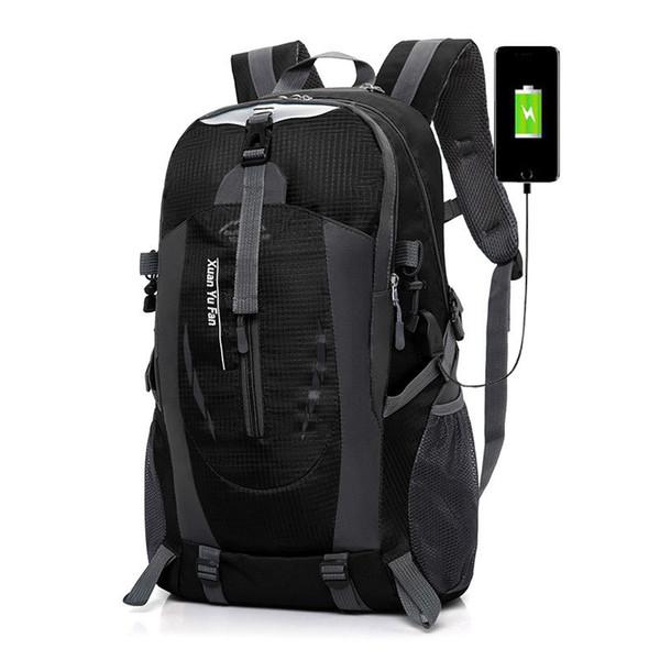 wholesale 2018 Men usb Charging Travel Multifunction Backpack Waterproof Nylon nmochila Female Casual Bag Male 15-inch Notebook Rugzak
