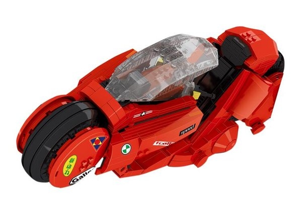 High quality adult high difficulty puzzle building blocks 03001 Jintian Aquila motorcycle model boy toy birthday gift