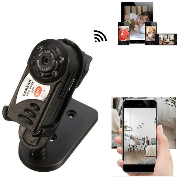 Q7 Mini Wifi DVR Wireless IP Camcorder Video Recorder Camera Infrared Night Vision Camera Motion Detection Built-in Microphone