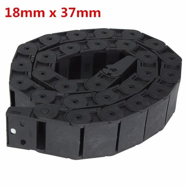 18 мм х 37 мм открываемые пластиковый кабель перетащить цепь 1 м длинный провод перевозчик перетащить цепь