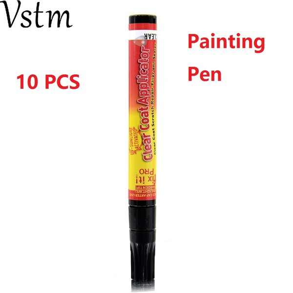 10 PCS Painting Pen Fix It PRO Clear Coat Application For Car Scratch Repair Remover Filler Sealer Activated Clear
