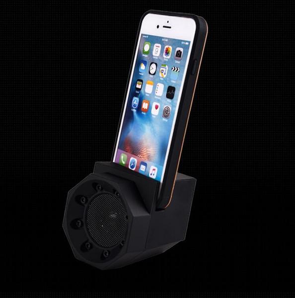 Résonance induction son créatif lion sens mutuel sans fil intelligent magie support de téléphone portable petit haut-parleur subwoofer