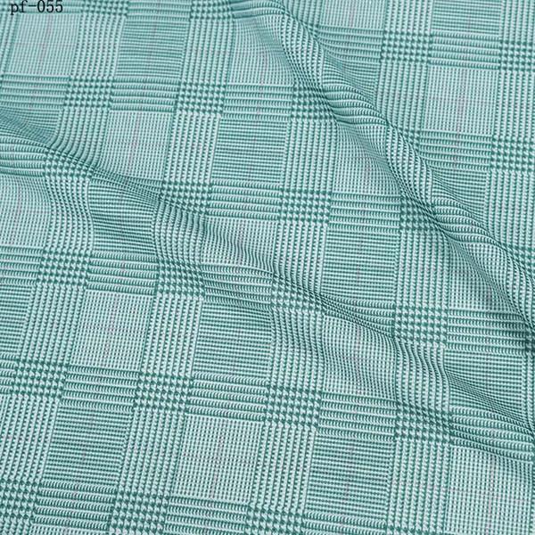 металлическая глянцеватая ткань напечатала яркую stretchy светлую рубашку решетки платья лета ткани smoothy