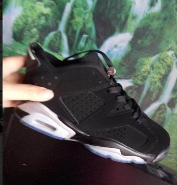 Big boy 6 кармин баскетбол обувь классический 6s UNC черный синий белый инфракрасный низкий хром дети мужчины спорт синий красный oreo альтернативный черный 36-47