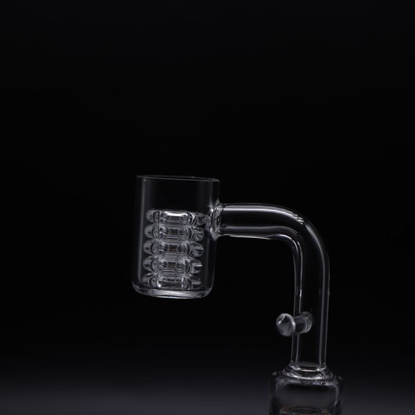 Chiodo bocchino quarzo Enail Beracky 20mm con inserto di nodo diamante estraibile OC Maschio 10mm 14mm 18mm Chiodi Banger per riscaldatore a spirale
