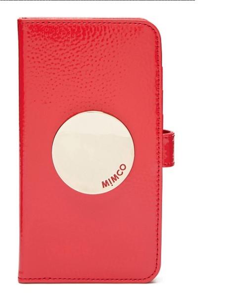 MIMCO WAVER FLIP CASE FOR IPHONE 6P/7P/8P---LIPSTICK RED