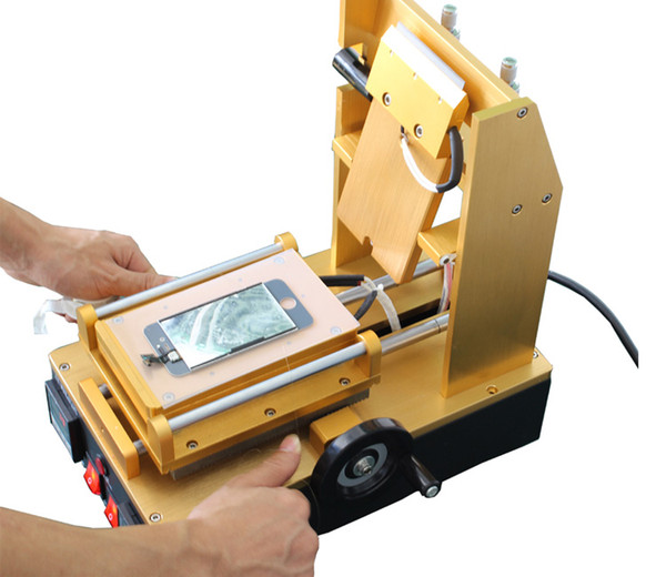JIUTU Precise temperature LCD UV LOCA Glue Remove Machine for samsung iphone Screen OCA Adhesive Clean Device