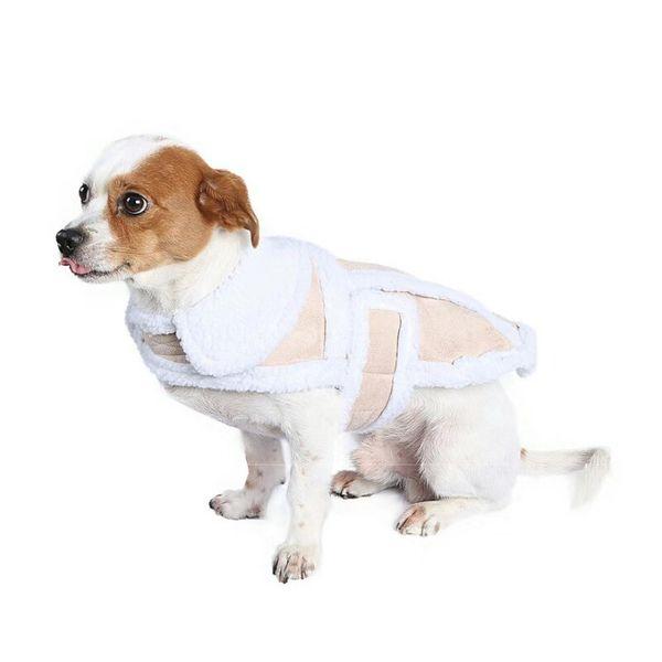 Christmas Dog Costumes.2019 Winter Dog Costumes Christmas Pet Clothes Sweaters Creative Buckskin Lamb Coats Big Dog Jackets Pet Outfits From Joyset 18 92 Dhgate Com