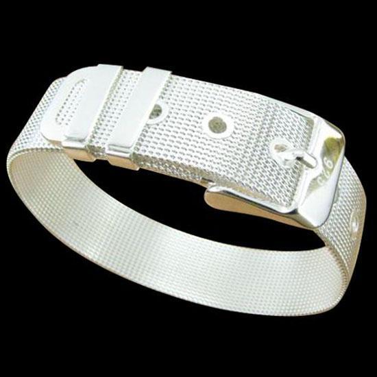 Fine 925 Sterling Silver Bracelet,XMAS New Style 925 Silver Chain Watch Bracelet For Women Men Fashion Jewelry n Link Italy Percing XH06