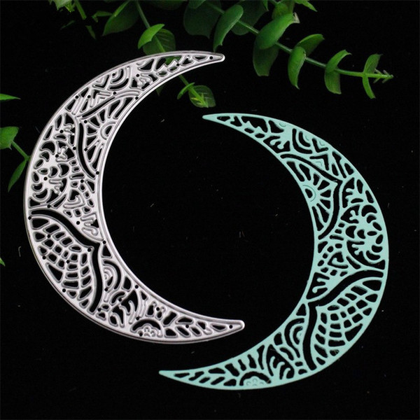 Cutting dies Moon for Cards Scrapbooking and Paper Crafts Embossing folder DIY paper craft Machines