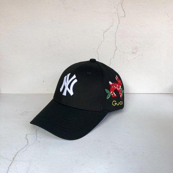 cervo farfalla Cappello Airone Preston DSNY vetements Cappello NY Ricamo Berretto da baseball fibbia Baseball sport gosha Cappello Cappello Hip Hop
