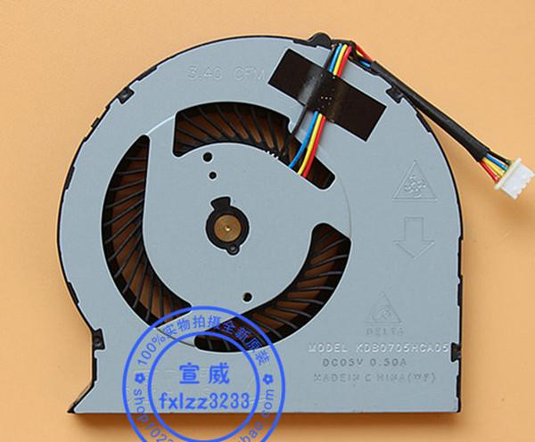 Nuovo originale Delta 3.40 CFM MODELLO KDB0705HCA05 DC05V 0.50A Ventola di raffreddamento per laptop