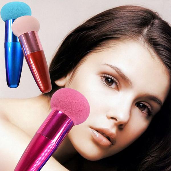 Mushroom  Cosmetic Liquid Cream Concealer Sponge Puff Foundation Brush
