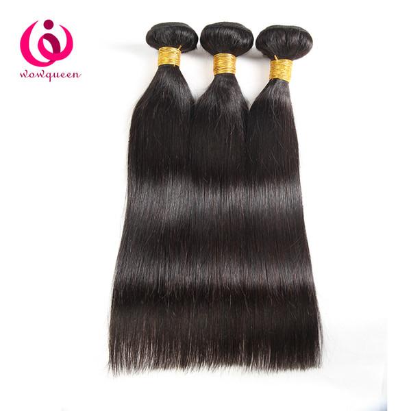 Fasci di capelli brasiliani dritto peruviano malese indiano tessuto mongolo dei capelli 100% 3 bundles a buon mercato prezzi capelli vergini non trasformati