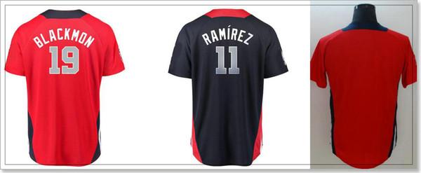 2018 All-Star Mens #11 Jose Ramirez 19 Charlie Blackmon Vintage Baseball Uniforms Shirts Team Player Jerseys Custom Stitched Embroidery