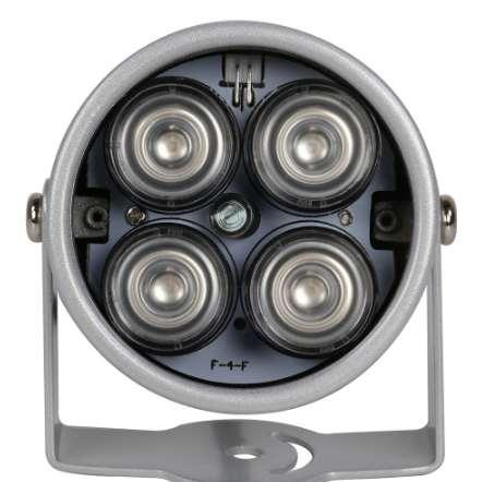 CCTV LEDS 4 array IR illuminatore a led Luce CCTV IR a raggi infrarossi impermeabile Night Vision per telecamera di sicurezza CCTV Camera IP
