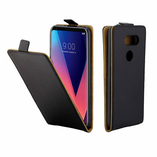Business Leather Case For Coque LG V30 H930 H930DS H933 Vertical Flip Cover Card Slot Cases For LG V30 Plus Phone Bags
