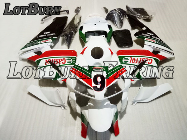 High Quality ABS Plastic Fit For Honda CBR600RR CBR600 CBR 600 RR F5 2005 2006 05 06 Moto Custom Made Motorcycle Fairing Kit Bodywork 09