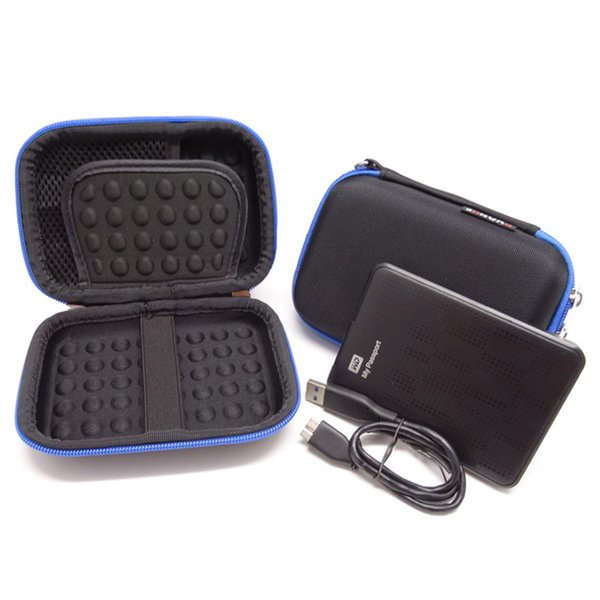 Waterproof Electronics Gadget Storage Bag Travel Digital Accessories Organizer Pouch for HDD Power Bank Charger USB Flash Drive
