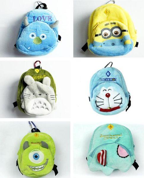 WOTUFLY Zipper Small Golf Ball Bags 5-6Pcs Golf Tee Key Marker Bag Funny Cartoon Two-layers Bags 2pcs/lot Free Shipping