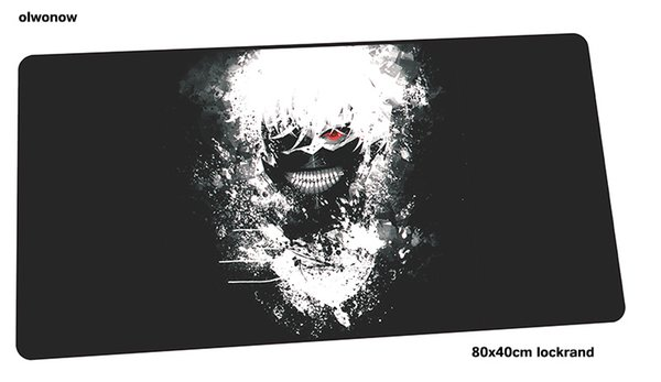Tokyo Ghoul mousepad 800x400x3mm HD print gaming mouse pad gamer mat High quality game computer desk padmouse keyboard play mats