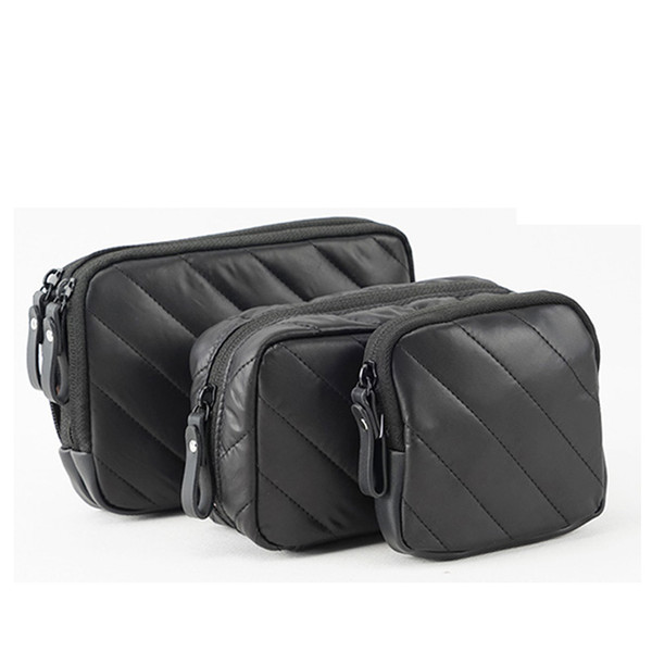 Old cobbler Fashion Multifunctional small cosmetic bag travel storage bags Portable 3 Piece Set Minimalism Free Delivery