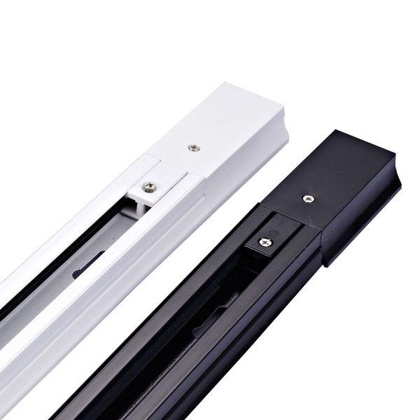Track Lighting 1m Track Rail Aluminium 1 metro Wire Light Rail Fixture 2 hilos aluminio de luces
