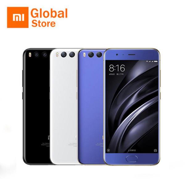 Original Xiaomi Mi 6 Mi6 6GB 128GB Snapdragon 835 Octa Core Smartphone 2.45G 5.15'' 1920x1080 18W Fast Charge NFC Android 7.1