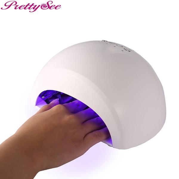 PRETTYSEE 12W a mené la machine de dessiccateur de polonais de lampe d'ongle de gel a mené la lumière UV pour le dessiccateur électrique polonais de lampe de gel d'ongle