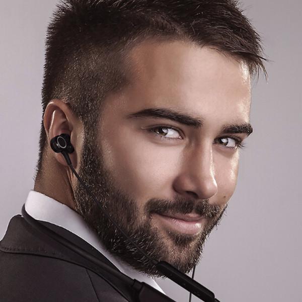 I-INTO I6 Dynamischer Kopfhörer HIFI Stereo-Ohrhörer, der in das Headset eingehängt wird. Beliebte Kopfhörer für Mobiltelefone mit niedrigem Kabelanteil
