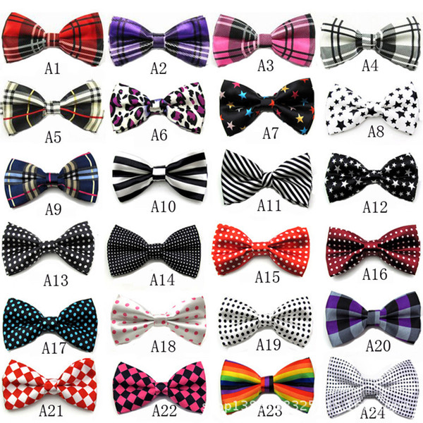 top popular 68 Colors Arrival Bowties Men's Ties Men's Bow ties Men's Ties Many Style Bowtie Free DHL XL-575 2020
