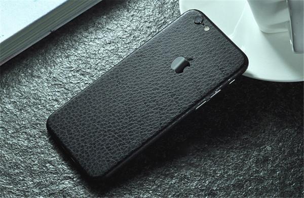 Autocollant élégant de téléphone portable de veines corticales pour iPhone 6/7 PVC Phone Skin 0.12MM Couverture de protection arrière