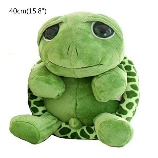 "40cm(15.8"") Large Tortoise Stuffed Animals Doll Soft Plush Toy Lifelike Giant Plush Toys Tortoise Pillow Large Realistic Stuffed"