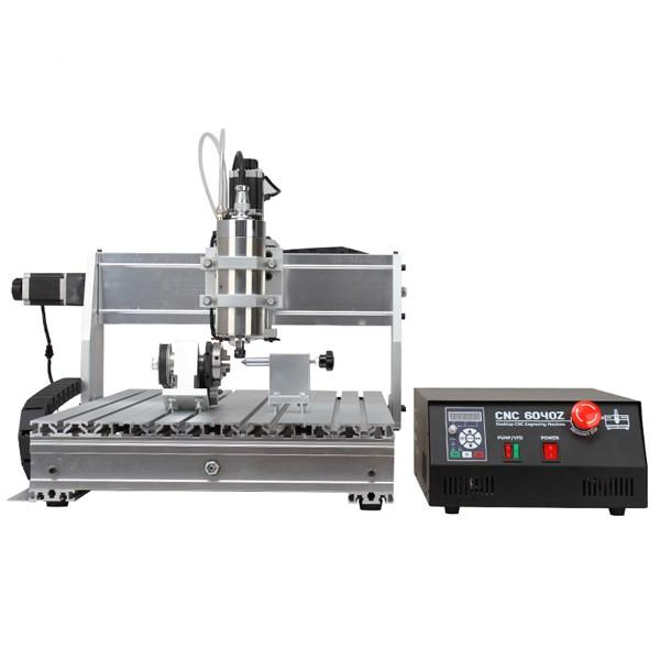 CNC 6040 4-axis 1500W CNC Router Engraver With Double-Spindle For Wood Metal Aluminum Cutting Milling Drilling Engraving Machine