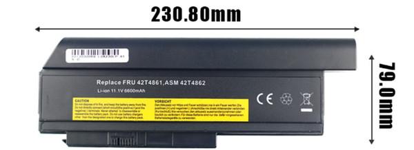 Nouvelle batterie compatible pour ordinateur portable Lenovo thinkpad x230 x220 Series