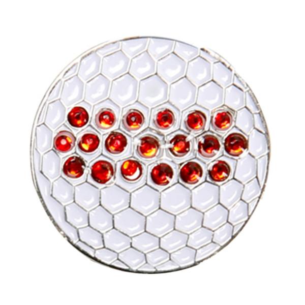 Heißer Verkauf Durable Metall Strass Kappe Clip Für Golf Ball Marker Zubehör Professionelle