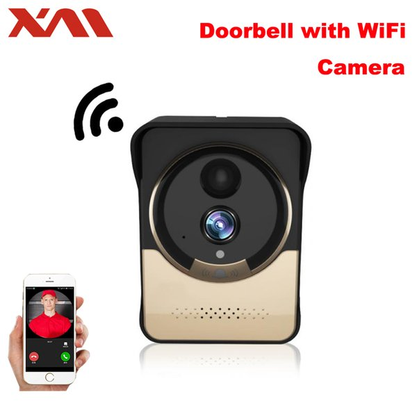 Großhandel XM Wireless WiFi Video Klingel Kamera IP Türklingel IR  Nachtsicht Monitor Kamera Videoüberwachung Mit 4000 MAh Batterie Powered  Von ...