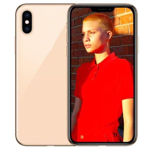 ERQIYU goophone Xs Max Dual sim phones unlocked Touch ID Octa Core shown 4G LTE 6G RAM 256GB ROM GPS Smartphones