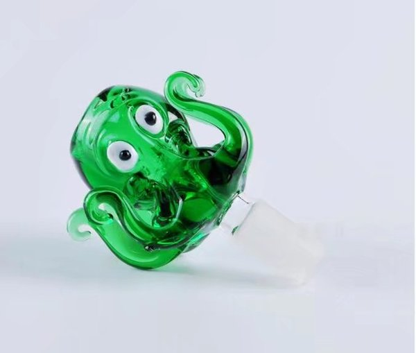 Octopus bubble head ,Wholesale Glass bongs Oil Burner Pipes Water Pipes Glass Pipe Oil Rigs Smoking, Free Shipping