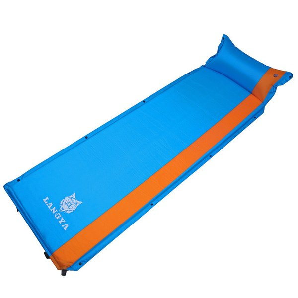 En plein air Beach Air Mat automatique tente de matelas gonflable Sleeping Pad Bed Camping Air Pique-nique Couverture Pads Coussin Tarp TU4001