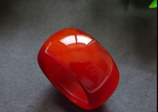 Dito agata calcedonio naturale rosso-verde giallo bianco e nero uomo giada dito anello anello di giada uomini e donne