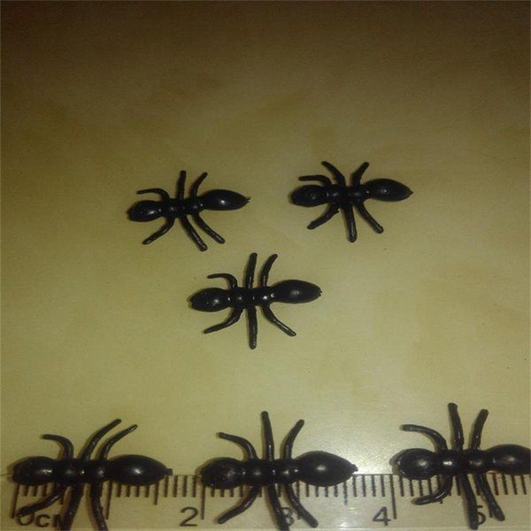Novelty Simulation Ant Toys Animal Insect False Pismire PVC Toy For Halloween Party Frightening Prank Supplies Hot Sale 2 28yy ff